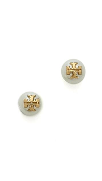 Tory Burch Evie Stud Earrings