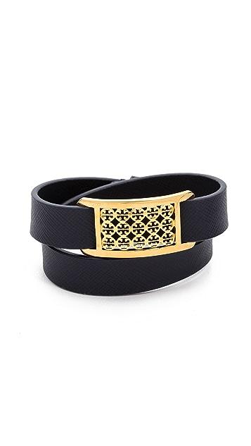 Tory Burch Kinsley Double Wrap Bracelet