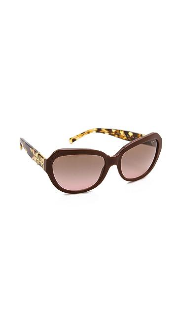 Tory Burch Classic T Ring Sunglasses