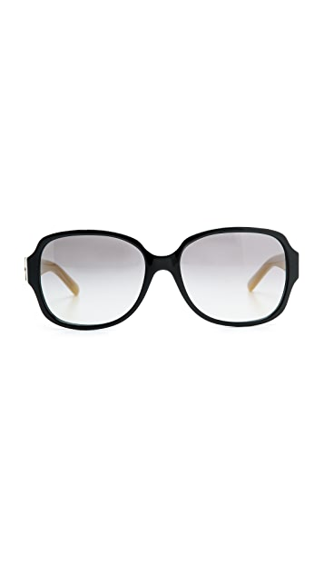 Tory Burch T Ring Square Sunglasses