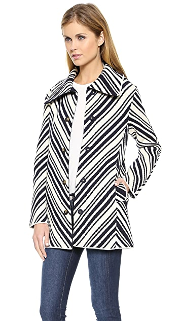 Tory Burch Tavia Chevron Jacket