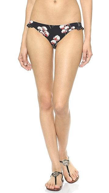 Tory Burch Solaro Ruffle Bikini Bottoms