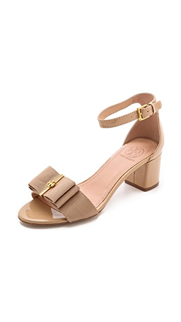 f1bfe5f4f Tory Burch Trudy Block Heel Sandals
