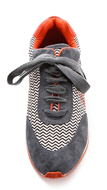 Tory Burch Delancey Printed Sneakers