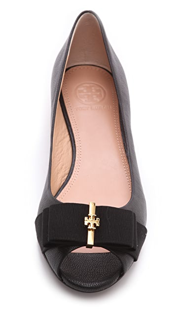 Tory Burch Trudy Open Toe Demi Wedges