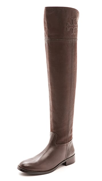 bdd297598e3 Tory Burch Simone Over the Knee Flat Boots