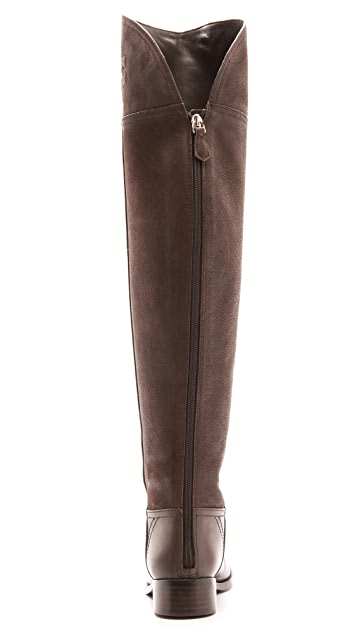 Tory Burch Simone Over the Knee Flat Boots