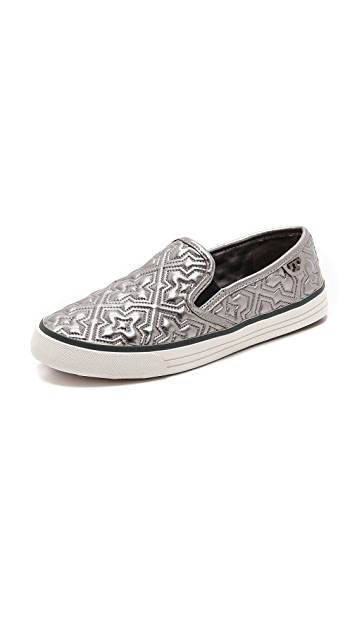 da02b2feebf4 Tory Burch Jesse 2 Metallic Sneakers