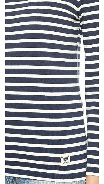 Tory Burch Tessa Striped Top