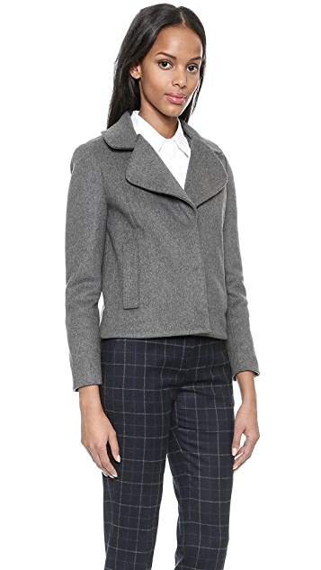 Tory Burch Jess Jacket with Cape Overlay