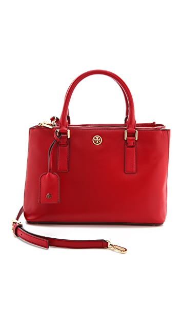 Tory Burch Robinson Mini Double Zip Tote