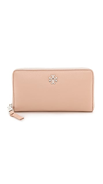 Tory Burch Mercer Zip Continental Wallet