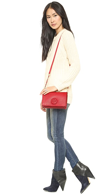 Tory Burch Marion Combo Cross Body Bag