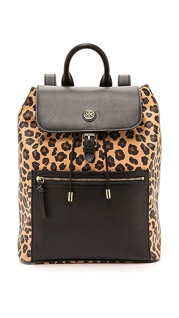 9fce46716ae6 Tory Burch Kerrington Flap Backpack