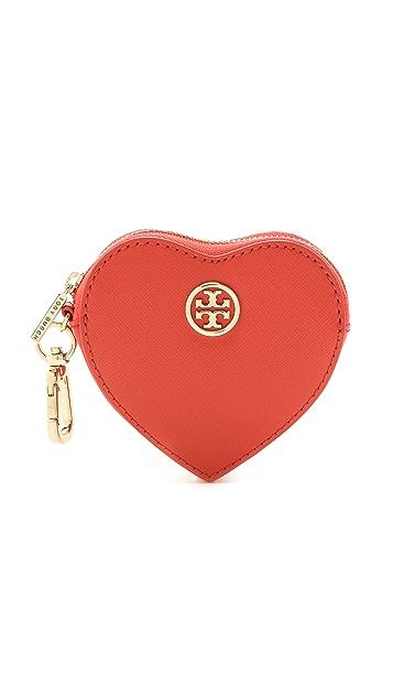 Tory Burch Heart Coin Case