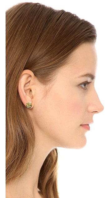 Tory Burch Livia Stud Earrings