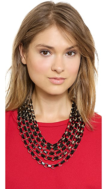 Tory Burch Aselma Multi Strand Necklace