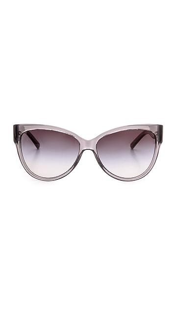 Tory Burch Modern Serif Sunglasses