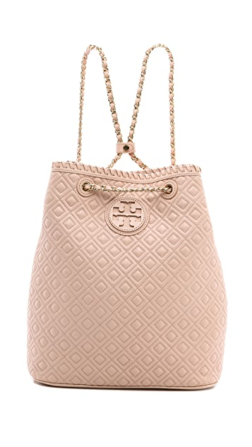 a922dca9a403 Tory Burch Marion Quilted Backpack ...