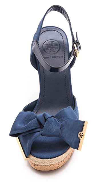 Tory Burch Penny Wedge Sandals