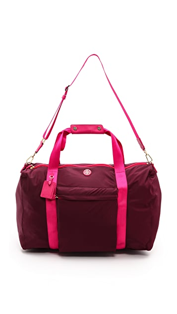 Tory Burch Travel Nylon Duffel Bag