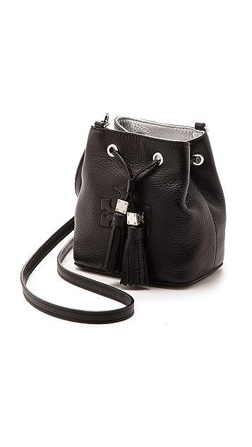 Tory Burch Миниатюрная сумка-ведро через плечо Thea