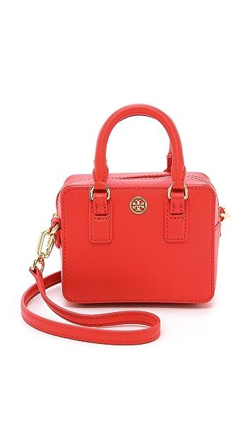 Tory Burch Небольшая сумка-портфель свободного кроя Robinson
