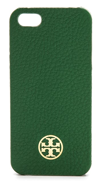 Tory Burch Robinson Pebbled Hardshell iPhone 5 / 5S Case
