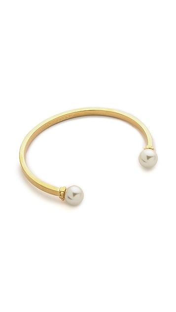 Tory Burch Glass Pearl Cuff Bracelet Shopbop
