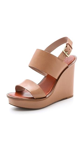 b48e6320787 Tory Burch Lexington Wedge Sandals