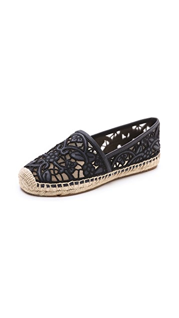 Tory Burch Lucia Lace Espadrilles