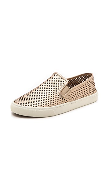 30e6bb8a36b4f2 Tory Burch Jesse Perforated Sneakers