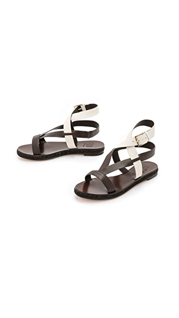 Tory Burch Marbella Flat Sandals