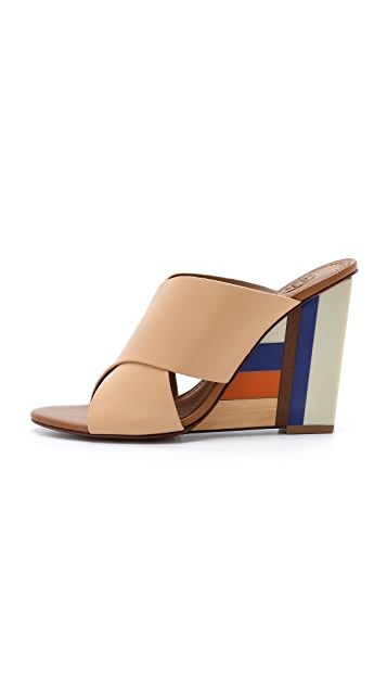 Tory Burch Color Cube Mules