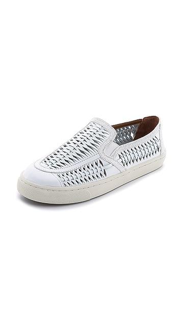 6bcb30a1b3e6 Tory Burch Huarache Slip On Sneakers