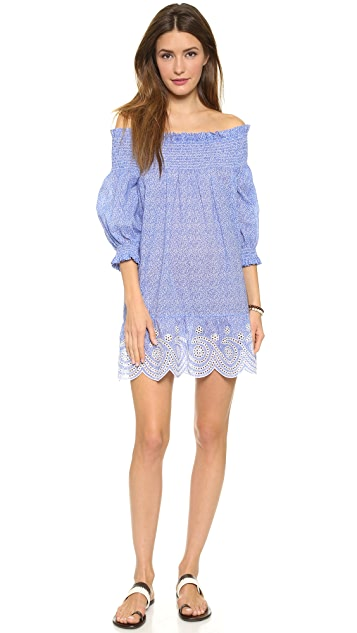 Tory Burch Ren Smocked Cover Up