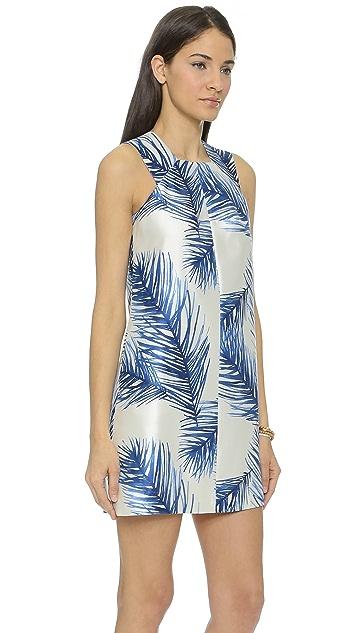 8406b7708dfb ... Tory Burch Silk Square Neck Dress ...