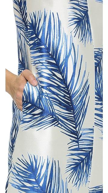 c62138febd9e ... Tory Burch Silk Square Neck Dress