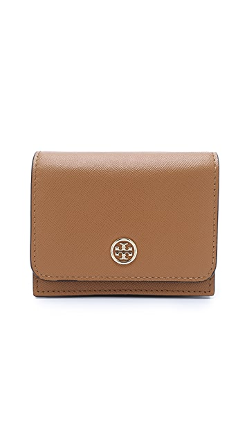 Tory Burch Robinson Multi Gusset Card Case