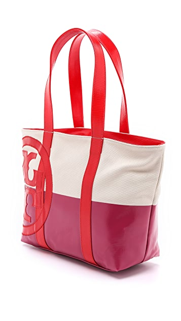 7882afb9c Tory Burch Small Dipped Beach Tote   SHOPBOP