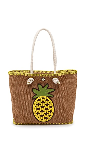 4943e460403 Tory Burch Knotted Pineapple Tote