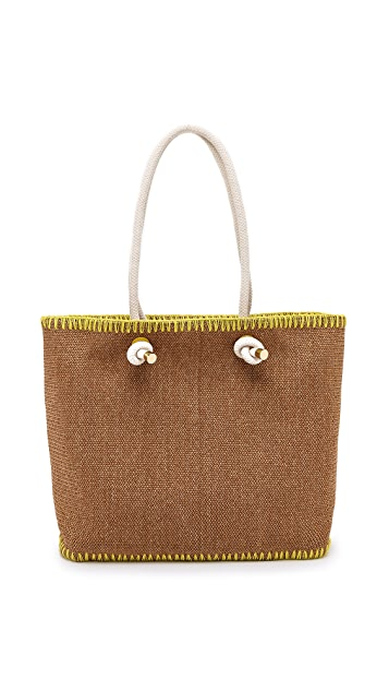Tory Burch Knotted Pineapple Tote