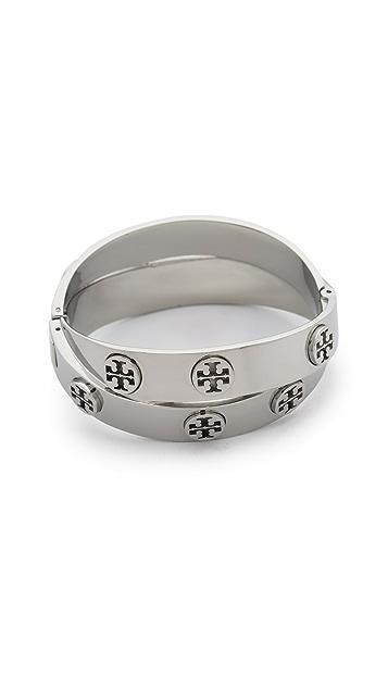 Tory Burch Double Wrap Cuff Bracelet