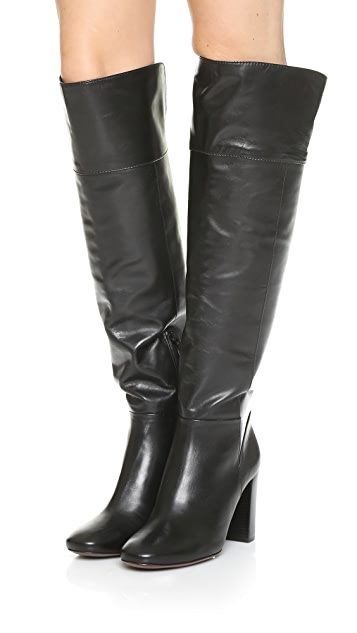 Tory Burch Bowie Over the Knee Boots