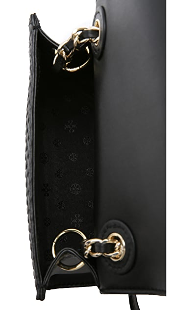 Tory Burch Marion Embossed Shrunken Bag