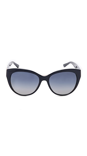 Tory Burch Full Rim Cat Eye Sunglasses