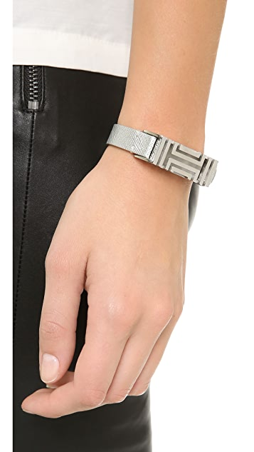 Tory Burch Tory Burch for FitBit Leather Bracelet