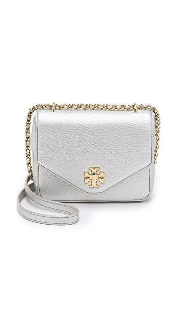 25c55c21025 Tory Burch Kira Metallic Mini Chain Cross Body Bag