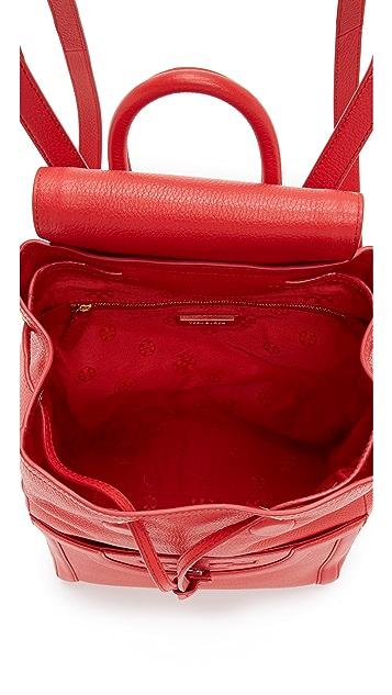cce01211068b ... Tory Burch Serif T Backpack