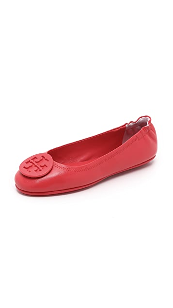 Tory Burch Minnie Travel Ballet Flats ...